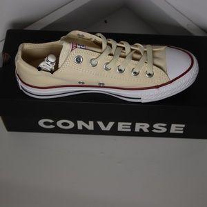 Beige / Cream Classic Converse All Star High Tops